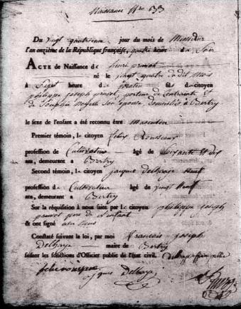 N pruvot henri 1803