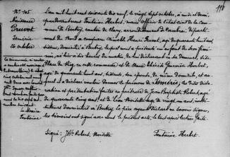 N pruvot ismerie octobre 1879