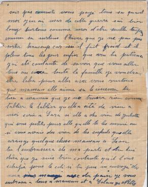 Nelly a regine 13 novembre 1943 verso