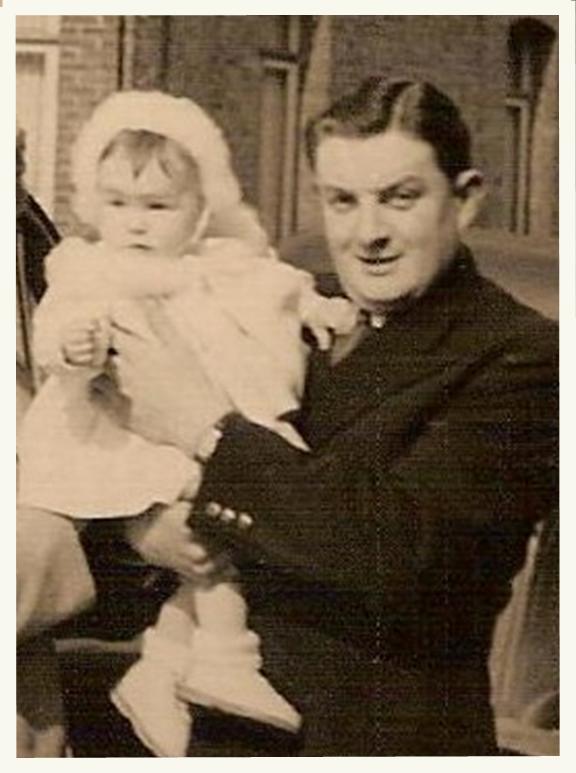 Papa et domi 1954