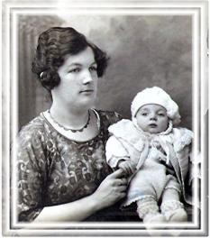 Papa et gabrielle 1924