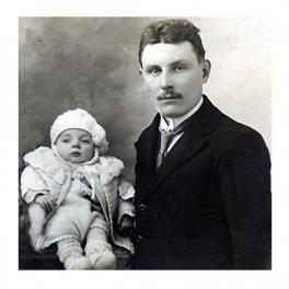 Papa et marc 1924
