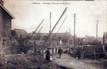 Passage a niveau bertry