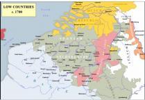 Pays bas espagnols 1700