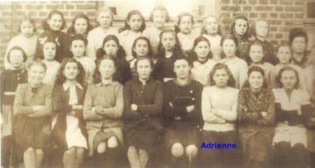 Photo de classe adrienne 1949 001