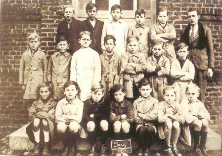 Photo de classe marc vers 1950