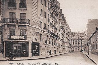 Rue albert de lapparent 1910