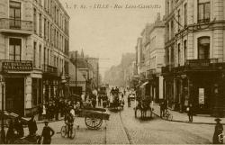 angle rue  Gambetta et Massena