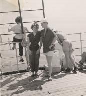 Solange 1955 voyage en israel