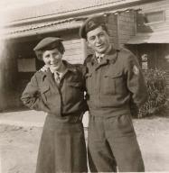 Solange et jean claude israel 1955