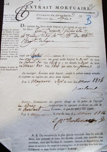 Taine auguste 21 1 1793