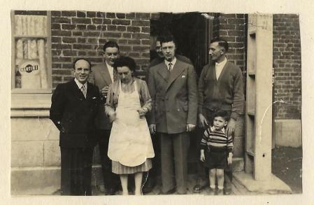 Café Fruit Bertry vers 1951-52