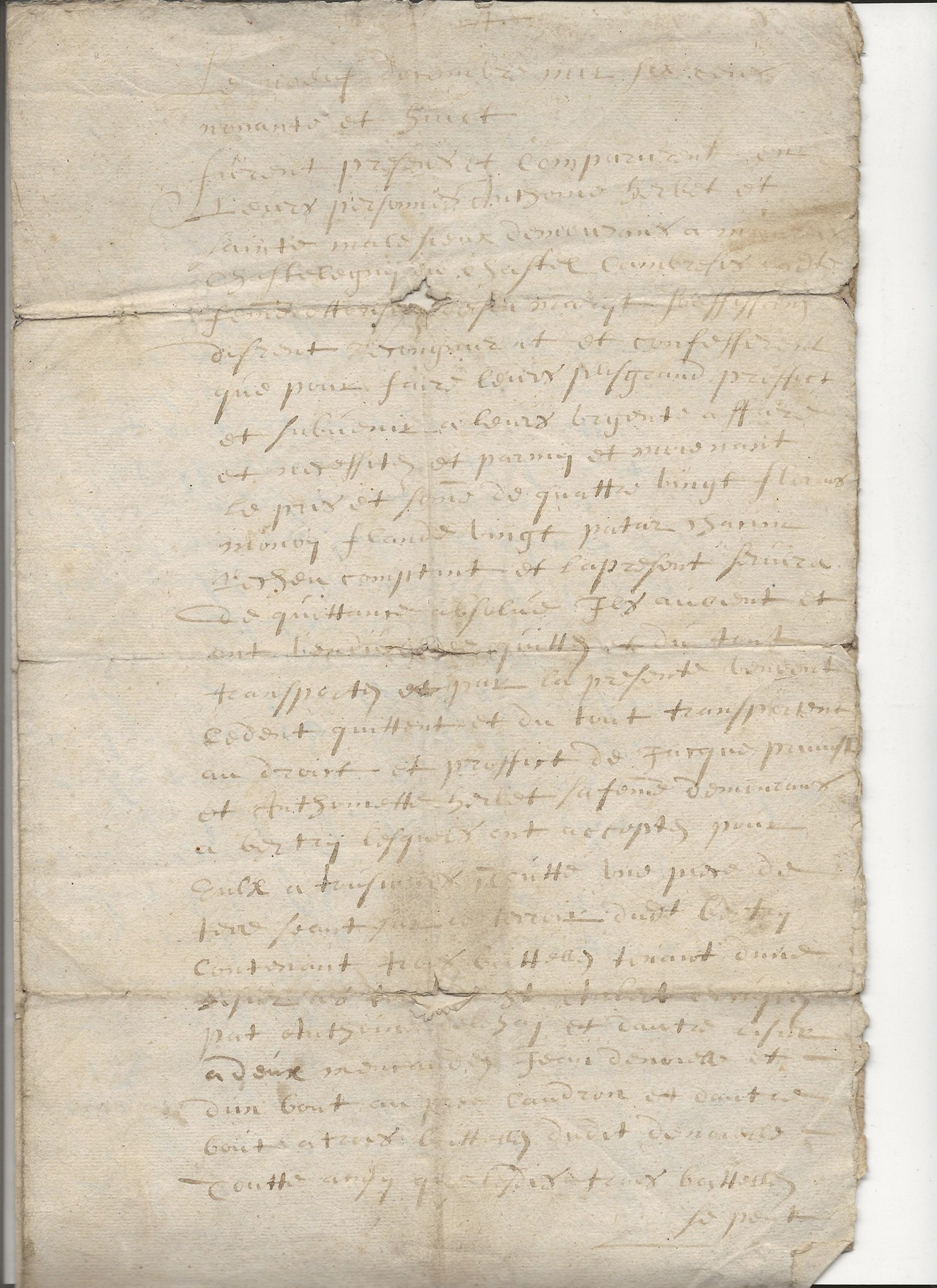 1697 acte concernant jean pruvot 4