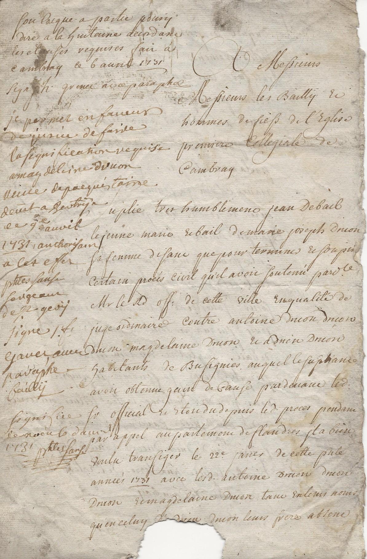 1731 proces debail druon 001