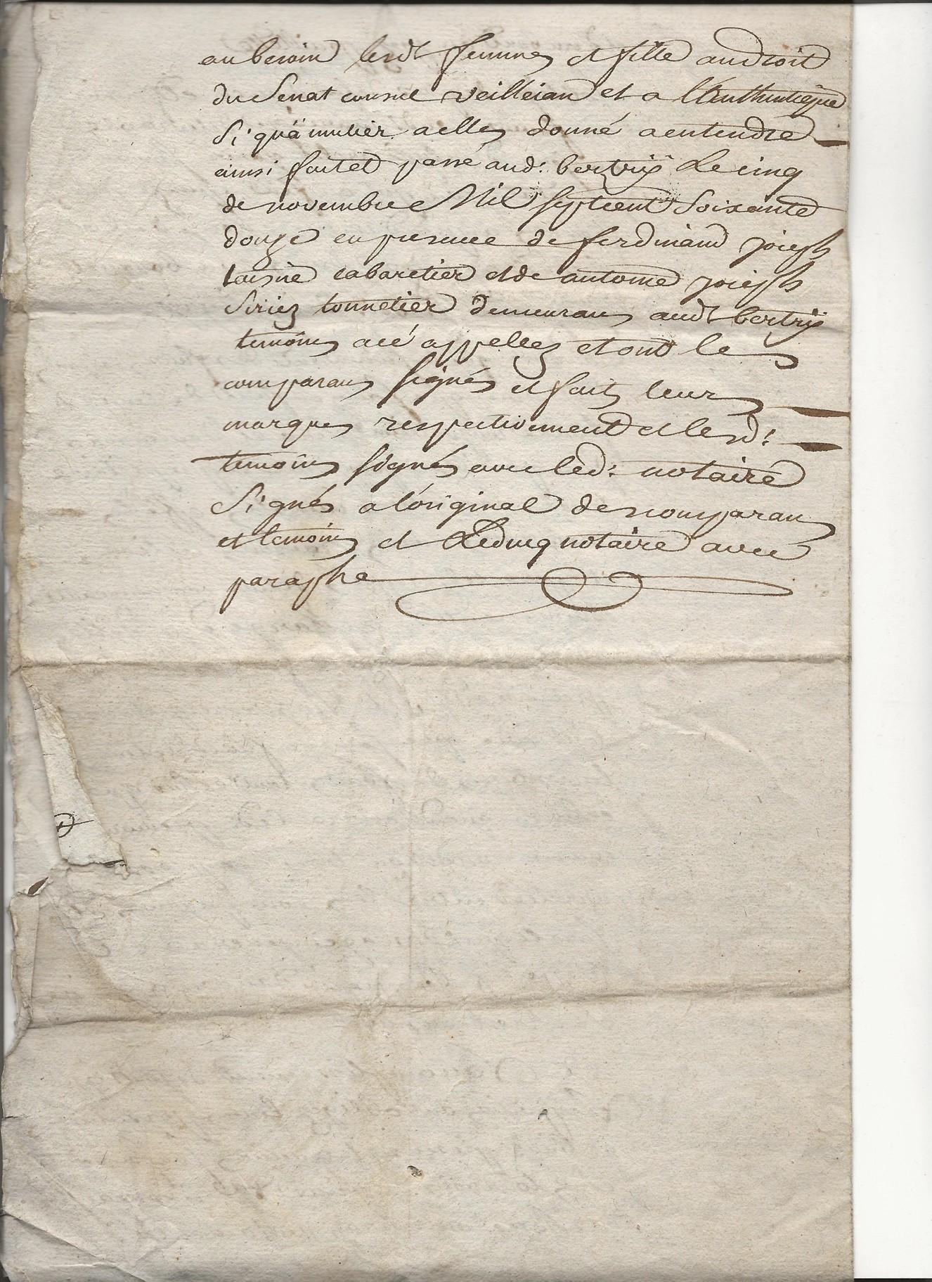 1772 acte partiel moriau jean guislain avec taine jeanne catherine 4