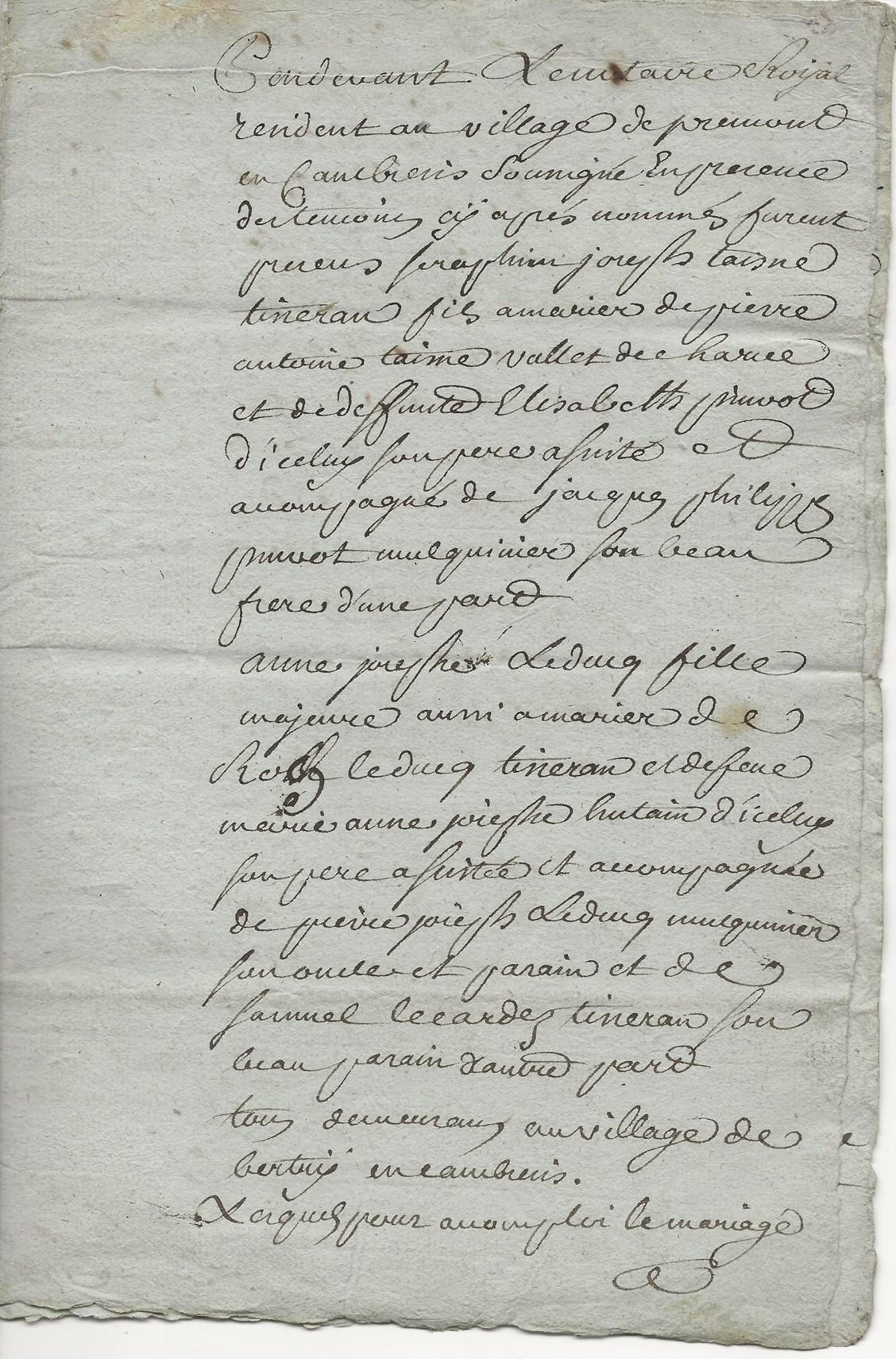 1783 mariage seraphin taine x anne jh leducq 001