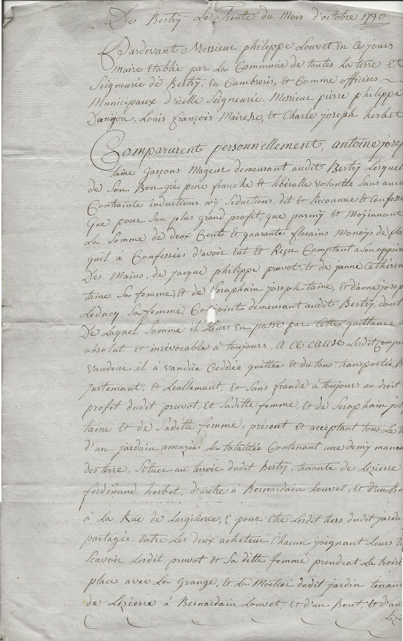 1790 vente taine a pruvot 001