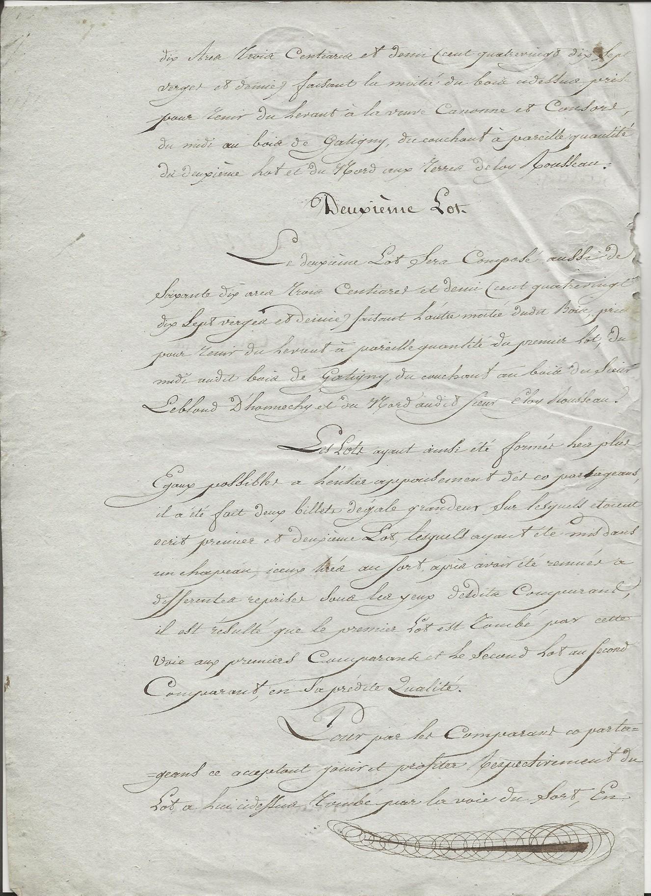 1817 partage biens antoine taine x florentine louvet 002