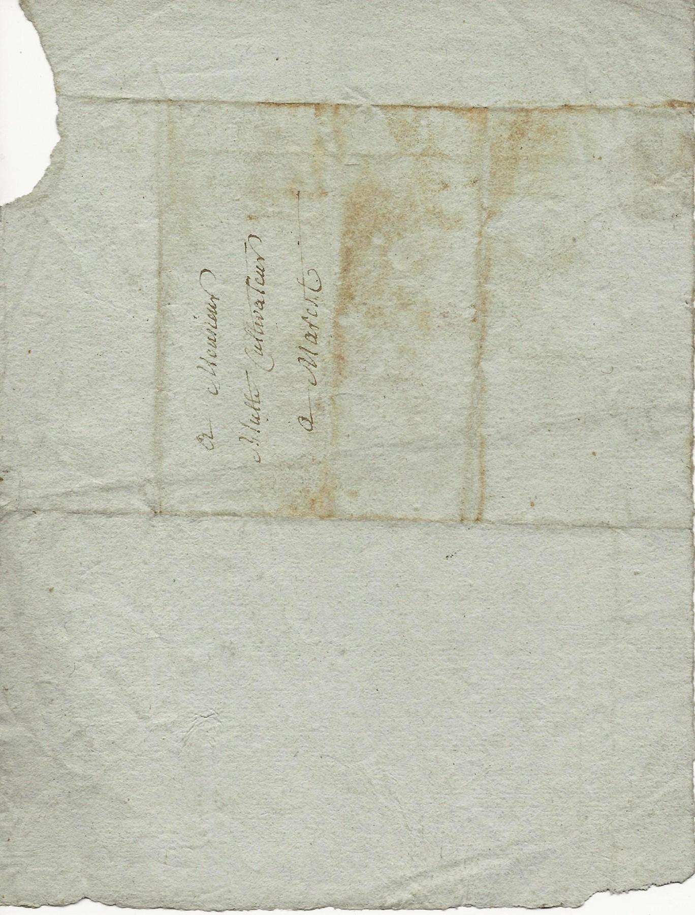 1819 lettre a mr blutte maretz 002