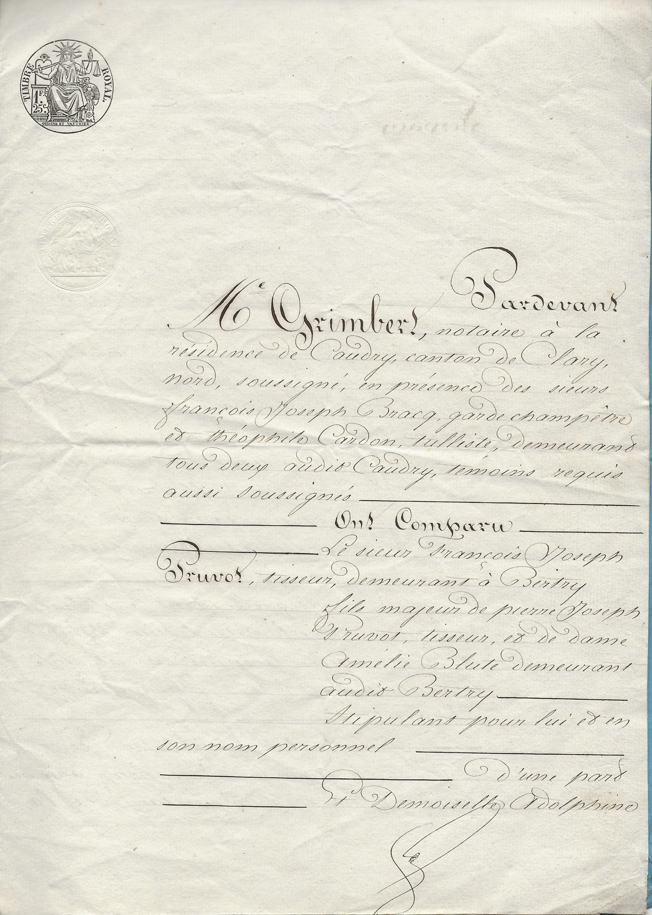 1848 mariage pruvot x jospin 001