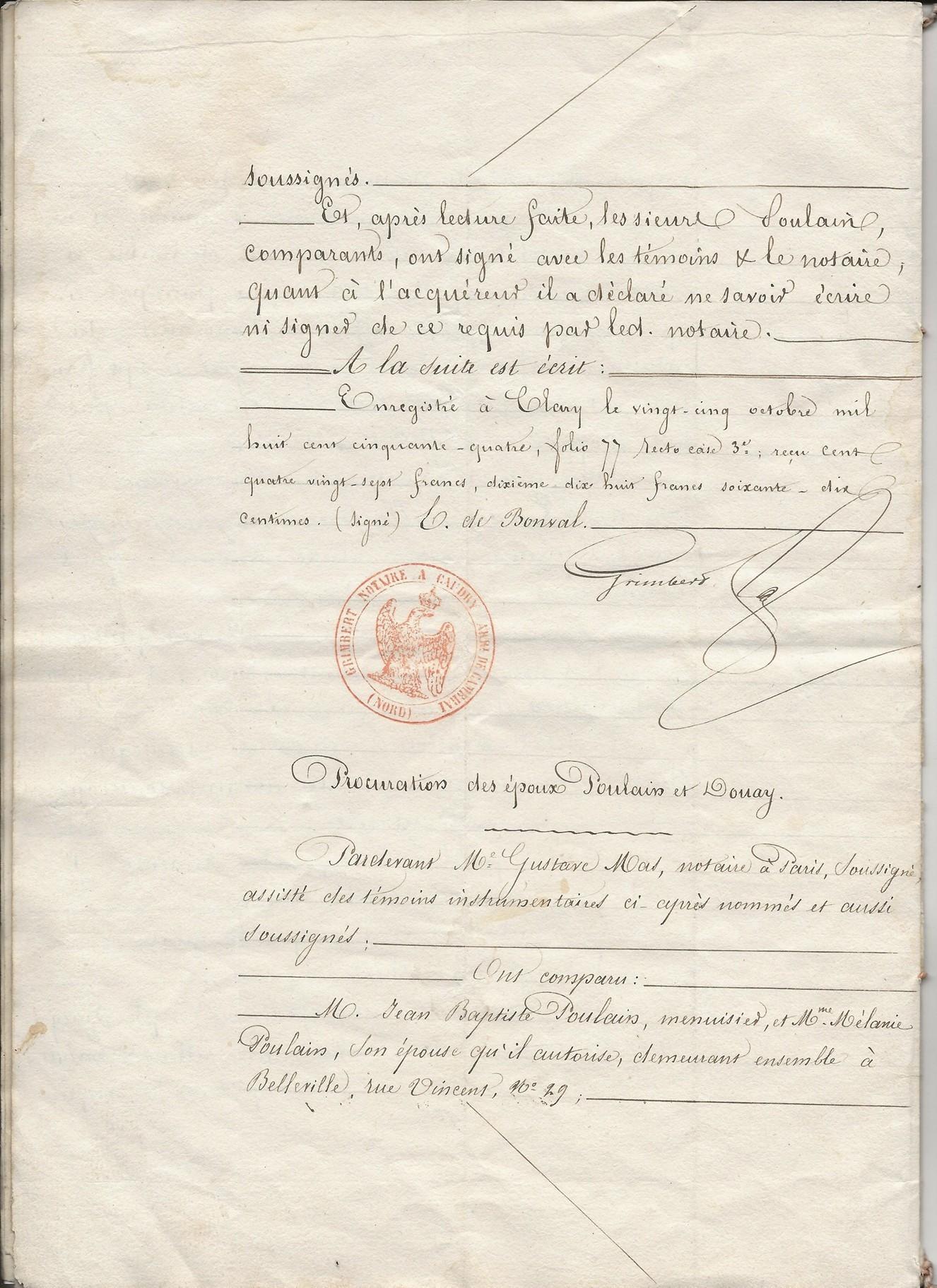 1854 vente vve et heritiers poulain a jospin 006