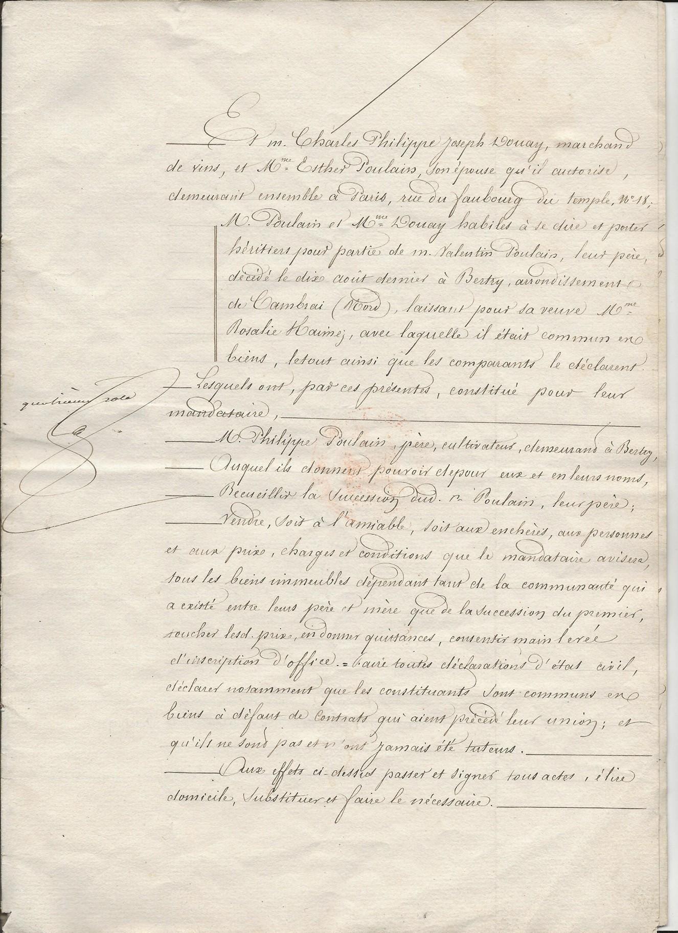 1854 vente vve et heritiers poulain a jospin 007