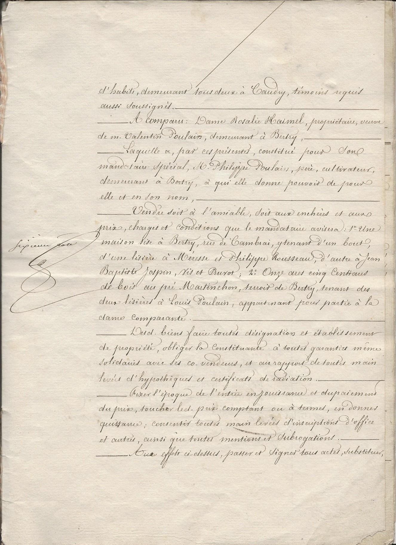 1854 vente vve et heritiers poulain a jospin 011