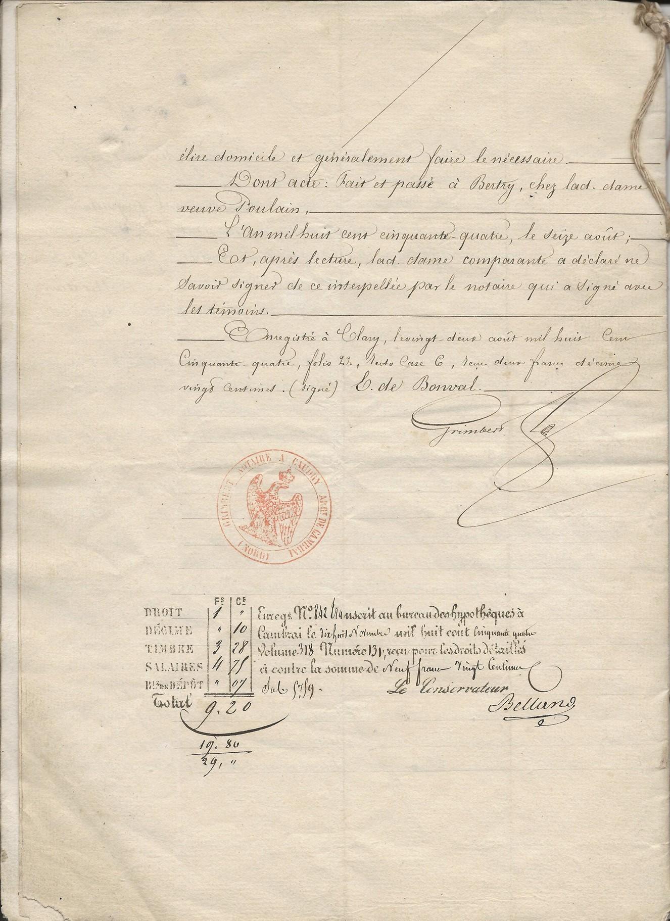 1854 vente vve et heritiers poulain a jospin 012