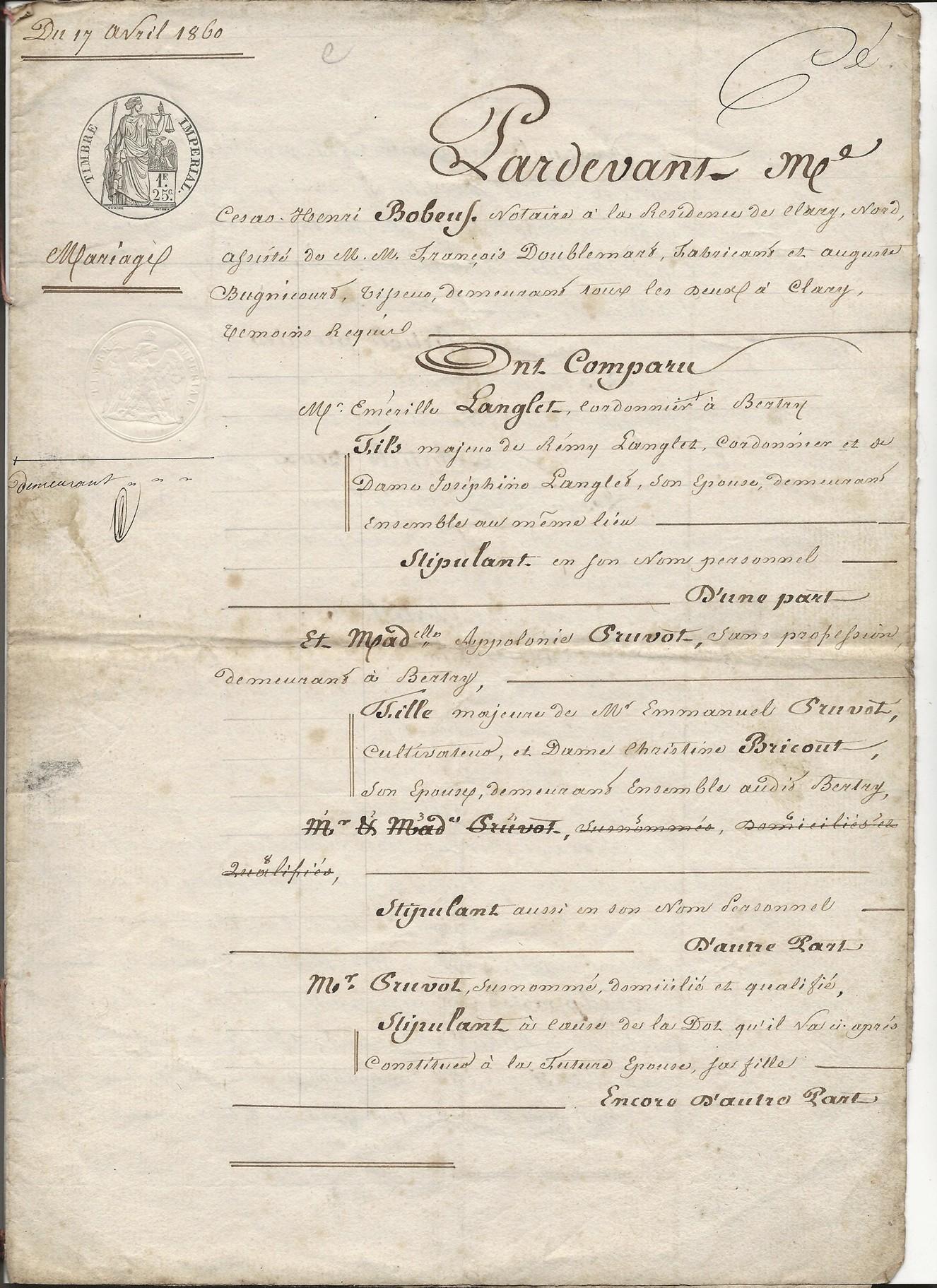 1860 ct mariage emerile lenglet x apolonie pruvot 001