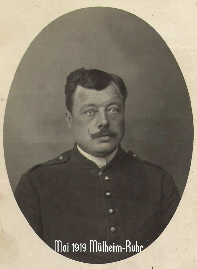 Mai 1919 Mulheim ruhr