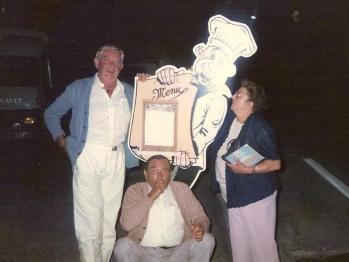 Avec Albert et Louisette