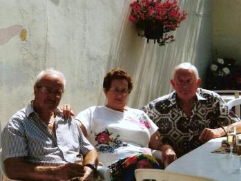 Avec Monique et Berto